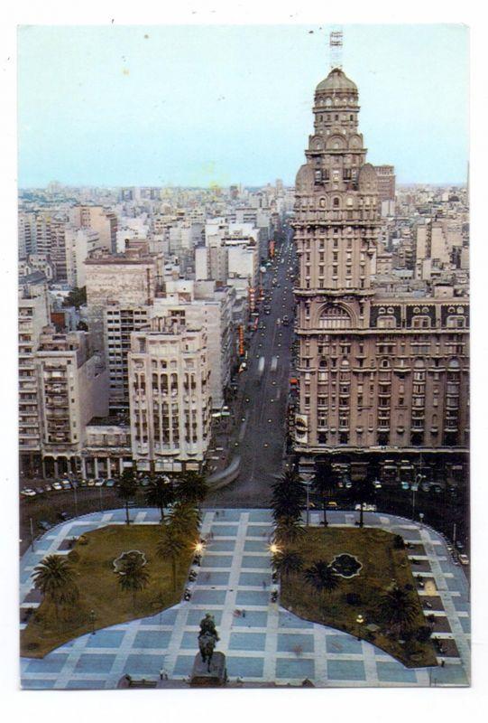 URUGUAY - MONTEVIDEO, Plaza Indenpendencia