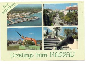 BAHAMAS - NASSAU, Greetings