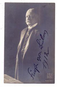 AUTOGRAPH - Reichskanzler Bernhard Fürst von Bülow, 1912