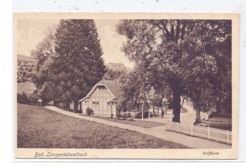 SPORT - GOLF - Golfhaus Bad Langenschwalbach