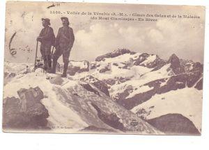 BERGSTEIGEN / Climbing / Alpiniste / Alpinista - Vallee de la Vesubie, 1920