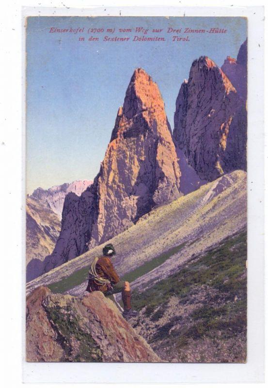 BERGSTEIGEN / Climbing / Alpiniste / Alpinista - Dolomiten, Drei Zinnen