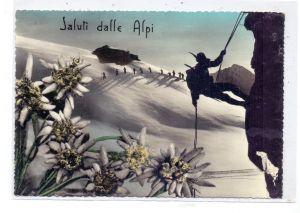BERGSTEIGEN / Climbing / Alpiniste / Alpinista - Gruss aus den Alpen, 1956