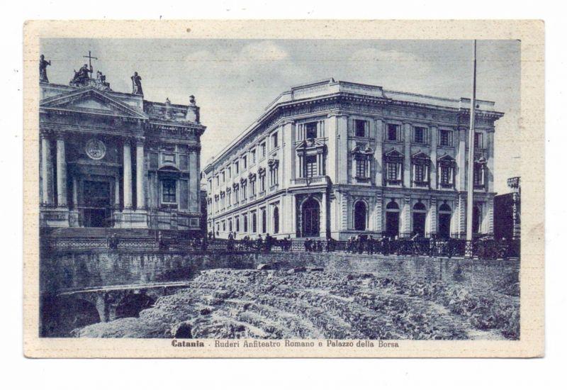 I 95100 CATANIA, Ruderi Anfiteatro Romano e Palazzo della Borsa