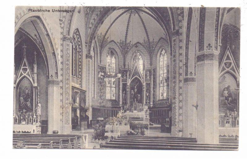 CH 6314 UNTERÄGERI ZG, Pfarrkirche Innenansicht