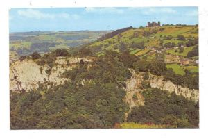 UK - ENGLAND - DERBYSHIRE - MATLOCK, High Tor & Riber Castle
