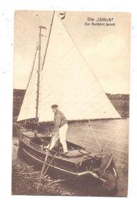 SPORT - SEGELN, Segelboot