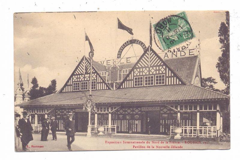 NEW ZEALAND - EXPO Pavillon, Roubaix 1911