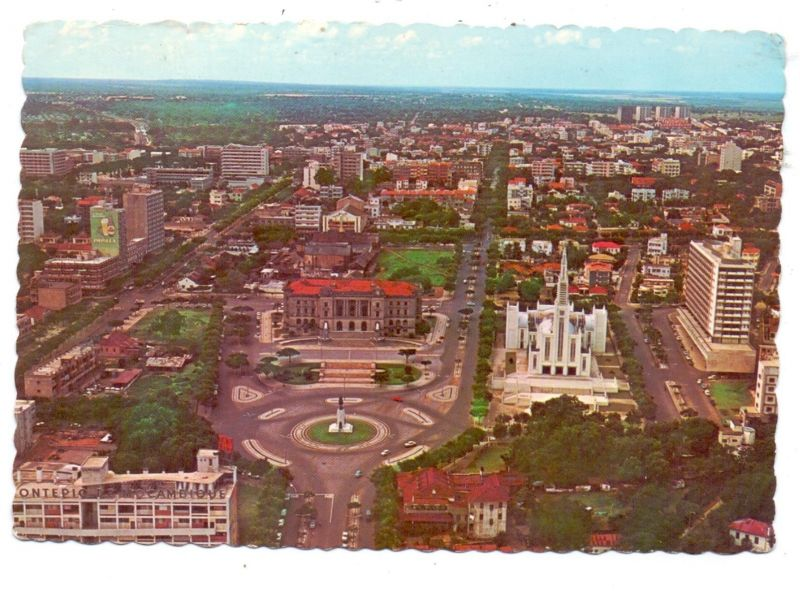 MOCAMBIQUE - LOURENCO MARQUES, Vista aerea, 1968