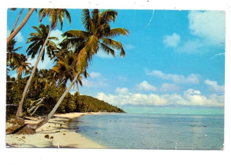FRANZ. POLYNESIEN - Paysage Polynesien, 1970