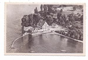 CH 8280 KREUZLINGEN TH, Strandhotel Schlössli, Flugaufnahme, 1952