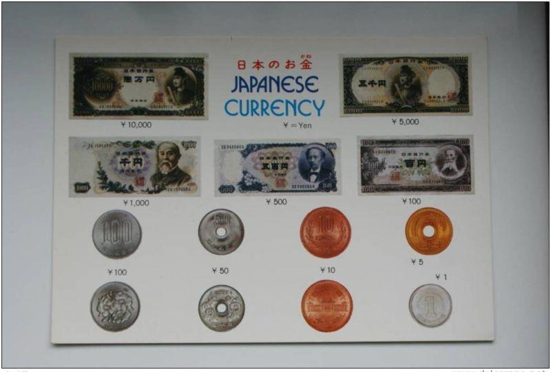 GELD - MÜNZEN - BANKNOTEN - Japan - coins / banknotes