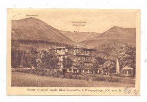 NIEDERSCHLESIEN - GIERSDORF - STEINSEIFFEN / PODGORZYN - SCIEGNY, Kaiser-Friedrich-Baude, 1926