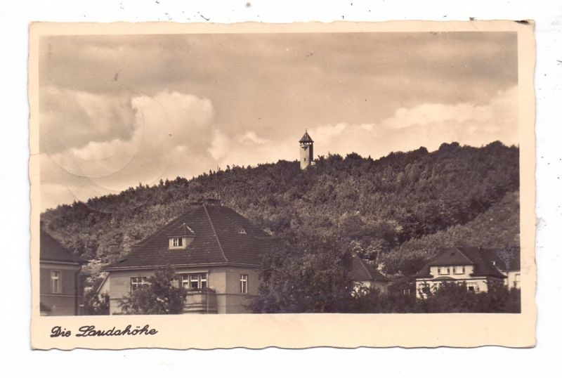 BÖHMEN & MÄHREN - LEITMERITZ / LITOMERICE, Laudahöhe, Feldpost 2.Weltkrieg, 1943