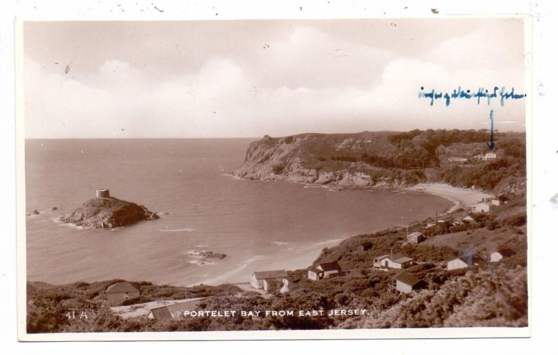 UK - ENGLAND - CHANEL ISLANDS - JERSEY - PORTELET BAY, from east