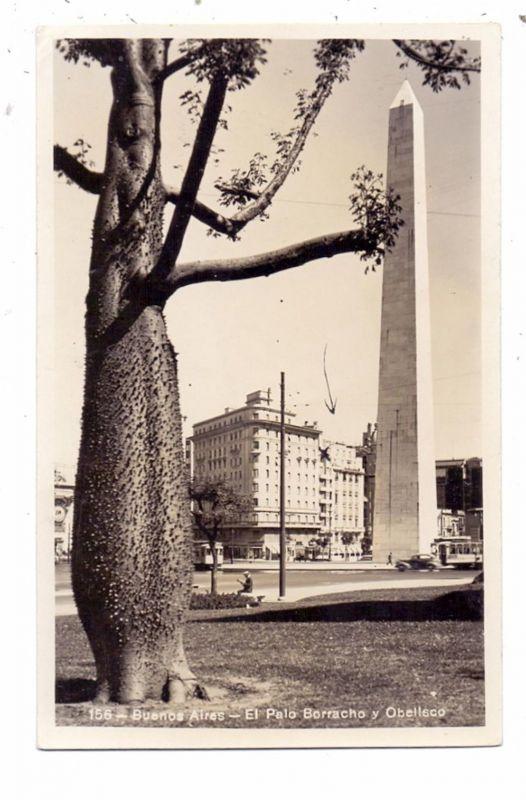 ARGENTINA - BUENOS AIRES, El Palo Borracho y Obelisco