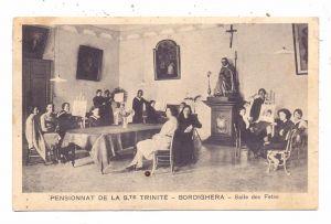 I 18012 BORDIGHERA, Pensionnat de la Ste. Trinite, Salle des Fetes