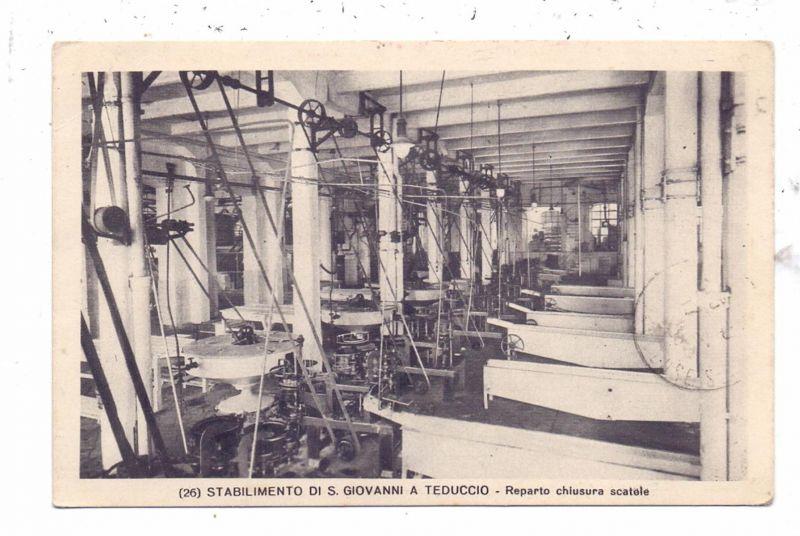 I 80100 NAPOLI - SAN GIOVANNI A TEDUCCIO, Del Gaizo Santariero S.A. Marmeladenfabrik, 1938