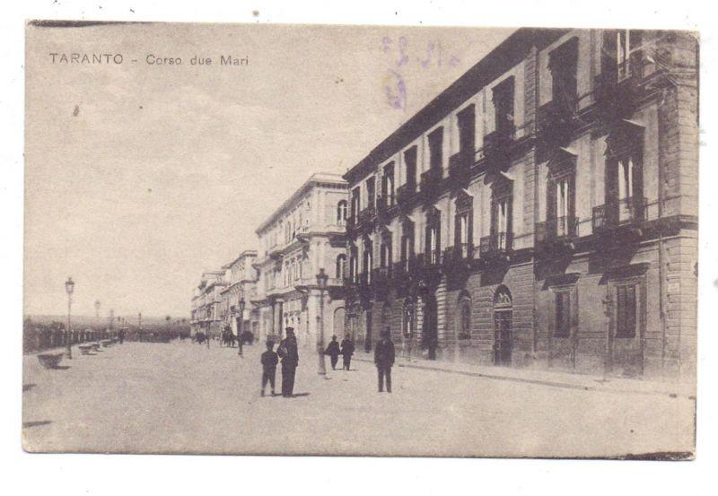 I 74100 TARANTO, Corso due Mari, 1917