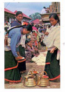 NEPAL - KATHMANDU valley, typical women, Trachten / Ethnic