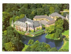 4053 JÜCHEN, Schloss Dyck, Luftaufnahme