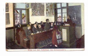 SCHULE - Volksleben im Schwarzwald, Trachten, 1913