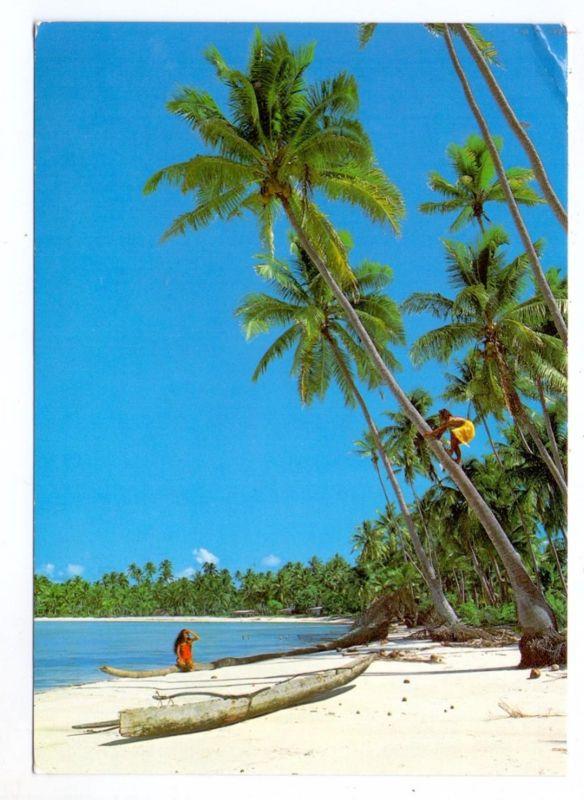 FRANZ. POLYNESIEN - Rivage polynesien