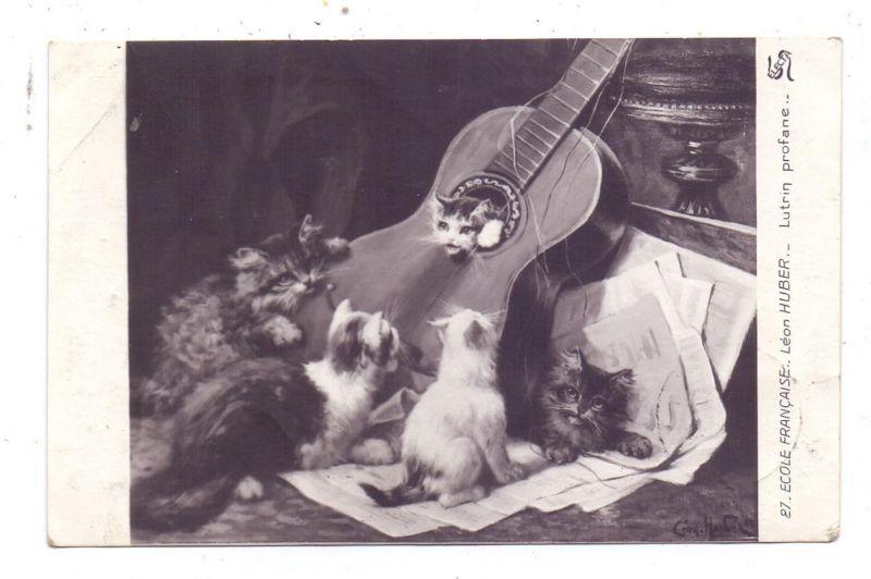 KATZEN / Cats / Chats / Katten / Gatti / Gatos - Artist Leon Huber