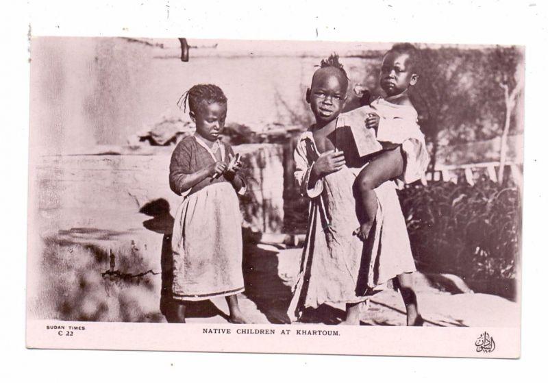 SUDAN - KHARTOUM, Native Children, ethnic / Völkerkunde