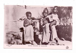 SUDAN - KHARTOUM, Native Children, ethnic / Völkerkunde