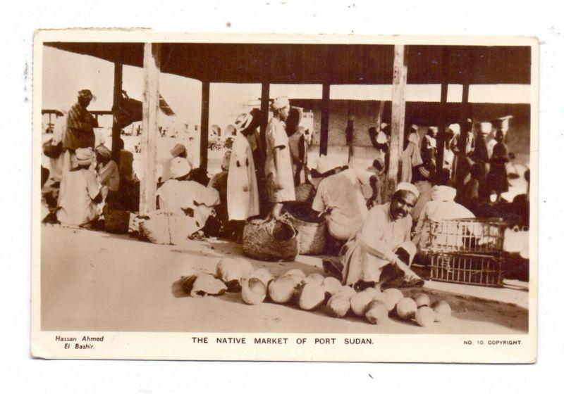 SUDAN - PORT SUDAN, Native Market