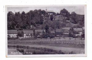 0--8800 ZITTAU - HIRSCHFELDE - LEHDE, Dorfansicht mit Weinberg - Gaststätte, 1942