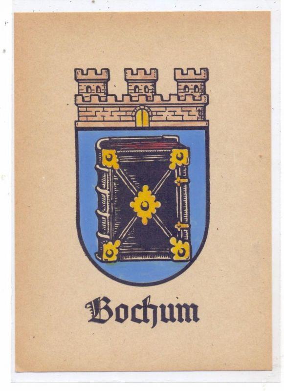 4630 BOCHUM, Stadtwappen, keine AK-Einteilung