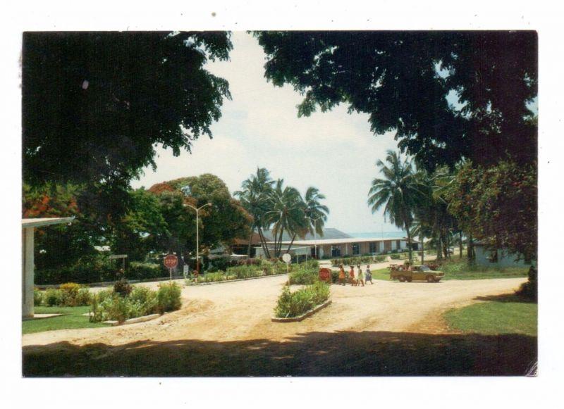 COOK ISLANDS - AITUTAKI, Township Centre