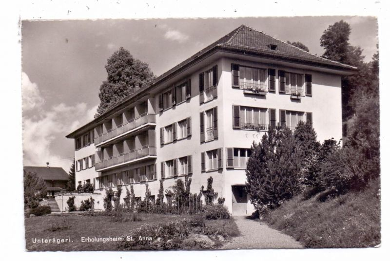 CH 6314 UNTERÄGERI ZG, Erholungsheim St. Anna, 1957