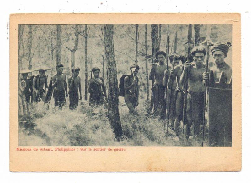 PILIPINAS - Buschkrieger, ethnic / Völkerkunde