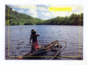 MICRONESIA - POHNPEI, Outlegger Canoe