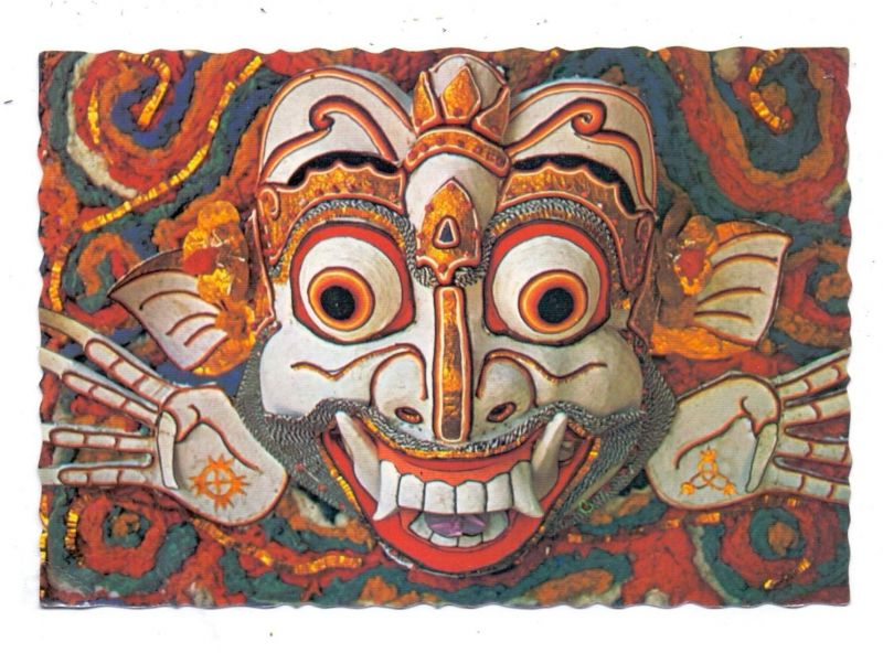 INDONESIA - Topeng Boma, Boma Mask, Bali, ethnic / Völkerkunde
