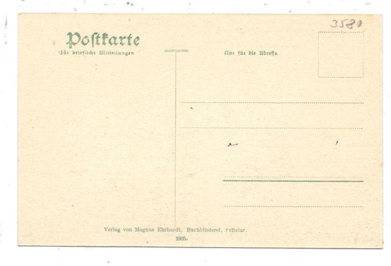 3580 FRITZLAR, Totalansicht, Verlag Rauch 1