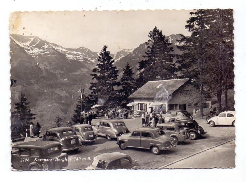 CH 8757 FILZBACH GL, Cafe Krenzer Berghus, 1954, Oldtimer, Druckstelle
