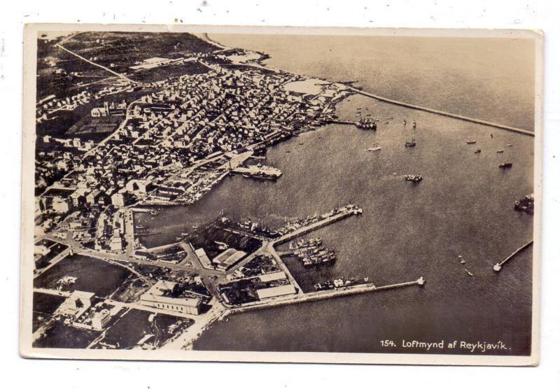 ISLAND - REYKJAVIK, Loftmynd, air view, Luftaufnahme, vue airienne