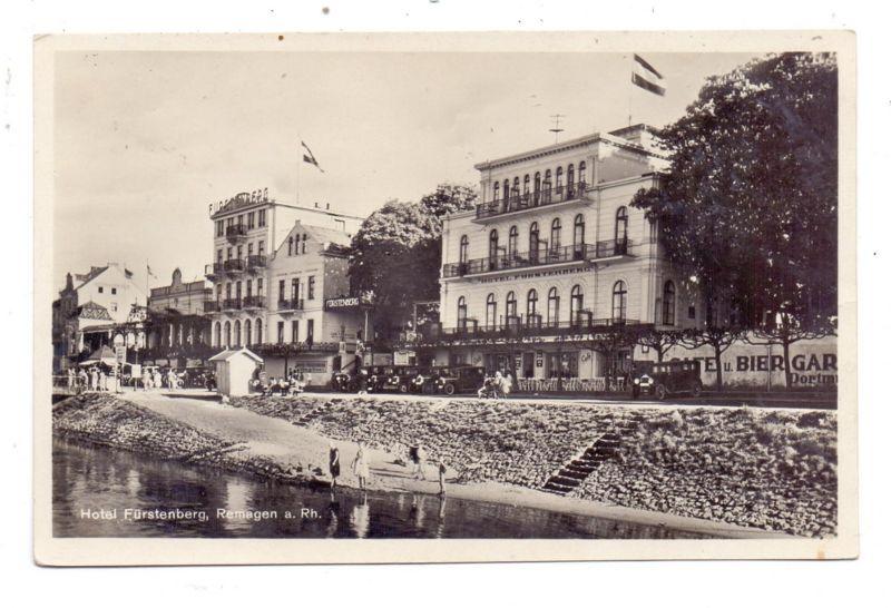 5480 REMAGEN, Hotel Fürstenberg, Oldtimer