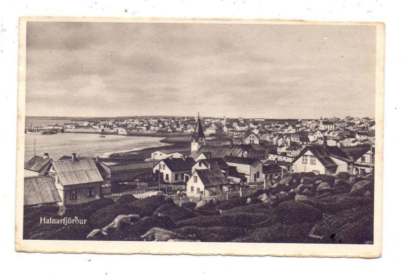 ISLAND - HAFNARFJÖRDUR, Panorama, 1932
