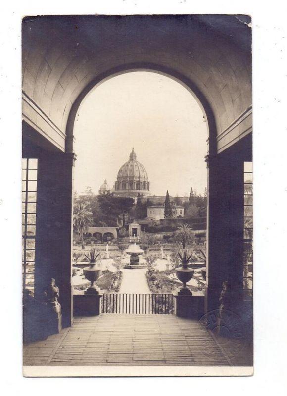 VATICAN - San Pietro veduto da Villa Malta, 1925