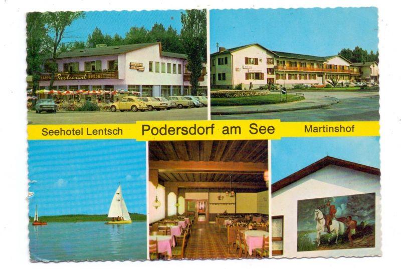 A 7141 PODERSDORF am See, Seehotel Lentsch, Hotel Martinshof