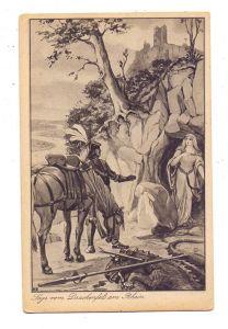 5330 KÖNIGSWINTER, Sage vom Drachenfels, Künstler-Karte