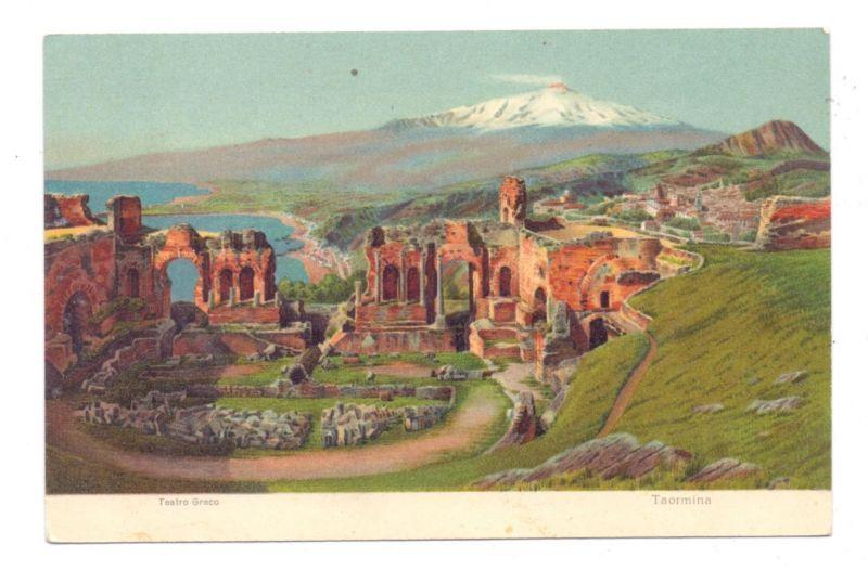 I 98039 TAORMINA, Teatro Greco, ca. 1905