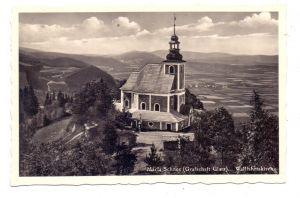 NIEDERSCHLESIEN - WÖLFELSGRUND / MIEDZYGORZE, Grafschaft Glatz, Maria Schnee, Wallfahrtskirche