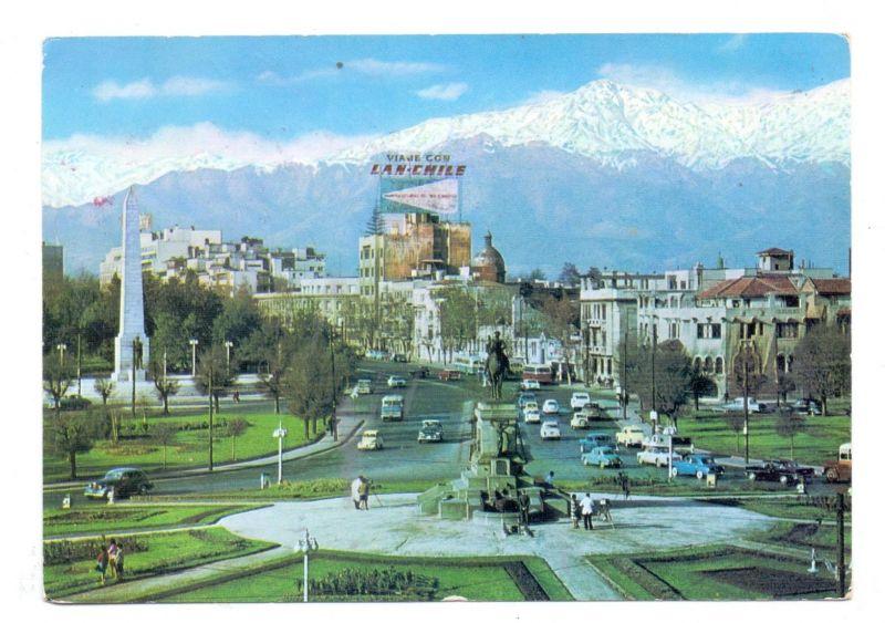 CHILE - SANTIAGO, Plaza Baquedano