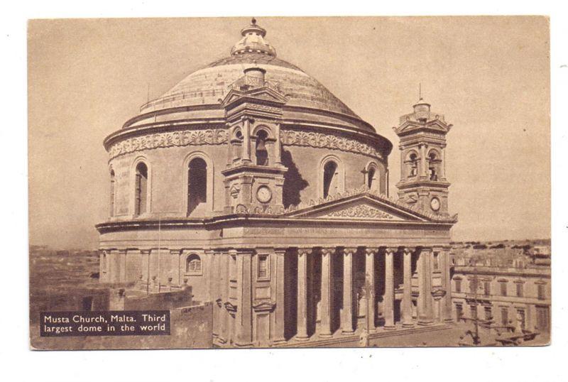 MALTA - MOSTA / MUSTA, Church, 1958